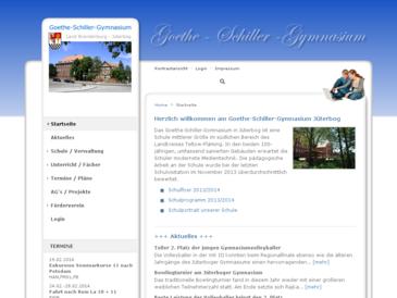 Internetpräsenz des Goethe-Schiller-Gymnasium