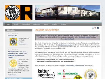 Roda-Schule, Förderschule der Städteregion Aachen - Förderschwerpunkt Geistige E