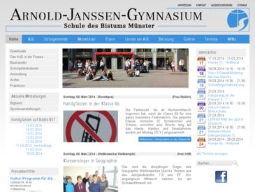 Arnold-Janssen-Gymnasium, Schule des Bistums Münster