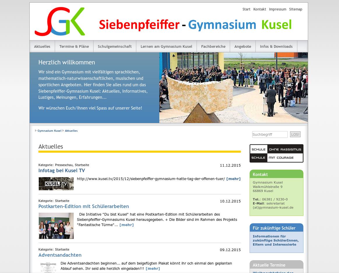 Siebenpfeiffer-Gymnasium Kusel