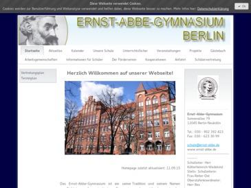 Ernst-Abbe-Gymnasium, Berlin