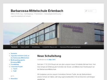 Barbarossa-Volksschule Erlenbach a. Main - Mittelschule