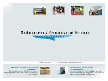 Städtische Gymnasium Hennef