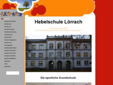 Hebelschule Lörrach - Die sportliche Grundschule!