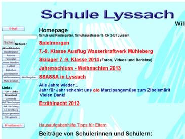 Schule Lyssach