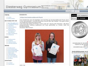 Diesterweg-Gymnasium Homepage
