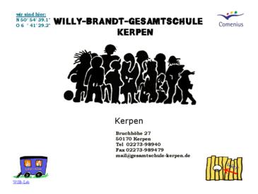 Willy- Brandt-Gesamtschule Kerpen
