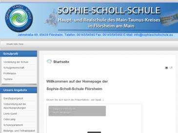 Sophie-Scholl-Schule Flörsheim