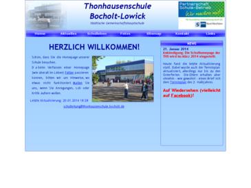 Thonhausenschule Bocholt-Lowick