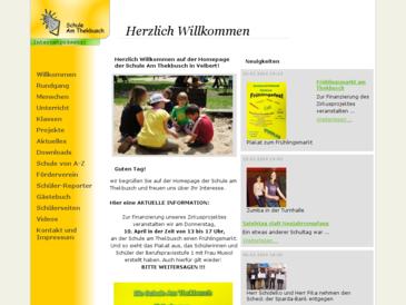 Schule Am Thekbusch Velbert - Webauftritt