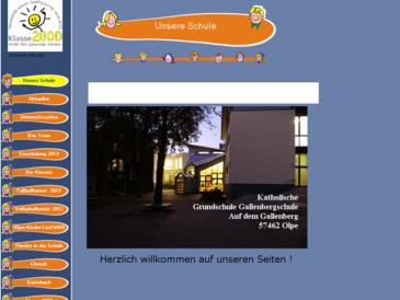 Katholische Grundschule Auf dem Gallenberg - Olpe