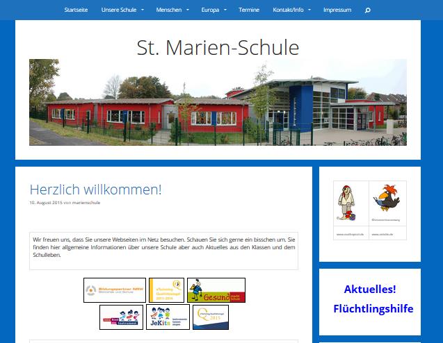 St. Marien-Schule, Städtische Katholische Grundschule