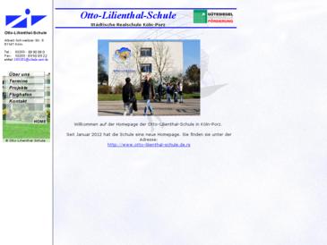 Otto-Lilienthal-Schule Städtische Realschule Köln-Porz