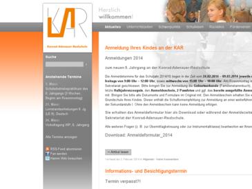 Konrad-Adenauer-Realschule Hamm