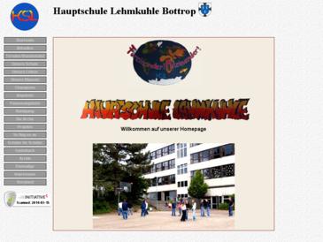 Homepage Hauptschule Lehmkuhle