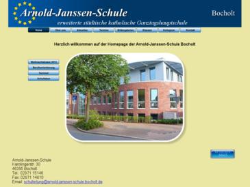 Homepage AJS