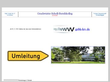 Geschwister-Scholl Schule  Städt. Berufskolleg Leverkusen
