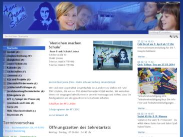 AFS-Linden.de - Anne-Frank-Schule Linden
