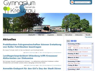 Gymnasium der Gemeinde Kreuzau