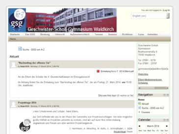 Geschwister Scholl Gymnasium Waldkirch