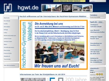 Hochrhein-Gymnasium Walshut