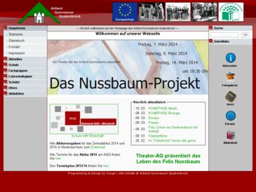 Artland Gymnasium Quakenbrück - AGQ Homepage