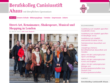 Berufskolleg Canisiusstift Ahaus mit beruflichem Gymnasium