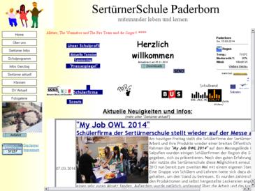 Sertürnerschule, Ganztags-Förderschule der Stadt Paderborn mit dem Schwerpunkt L